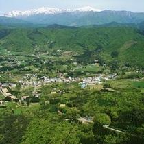 コキアパーク 白山展望