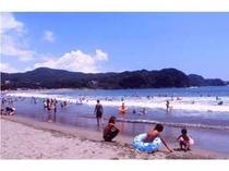 ますはらから徒歩30秒!南伊豆最大の弓ヶ浜ビーチ