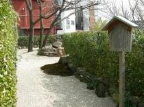 駅前、小庭園a