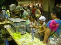 湯河原温泉・夏に3週間開催している納涼縁日(ちびっこ広場L)