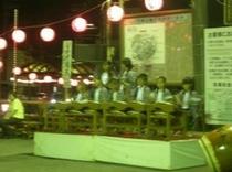 湯河原温泉・夏に3週間開催している納涼縁日(ちびっこ広場g)