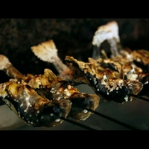 焼きたての旬魚