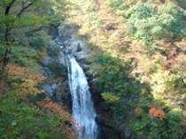 10月25日の秋保大滝
