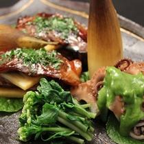 【料理例】旬の味覚を様々な調理法でお楽しみ頂けます。