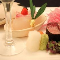 【料理例】彩り豊かなお食事の数々をお楽しみ下さい。