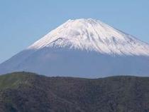 芦ノ湖付近からの富士山