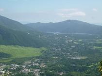 金時山からの眺め