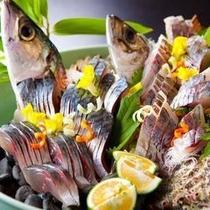 【最高級魚】関鯵&関鯖の姿造り