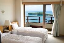 【雄大な日本海が一望♪】オーシャンビュー洋室