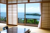 【雄大な日本海が一望♪】オーシャンビュー和室
