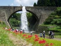 秋の通潤橋①