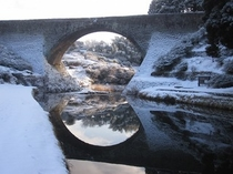 '11通潤橋冬景②