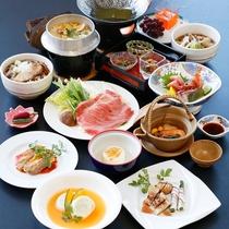 *【秋の極膳(2016年)】豪華食材が盛りだくさん!