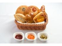 【朝食】ホテルメイドパン★