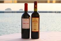 海を眺めながら贅沢に味わうギリシャワイン♪