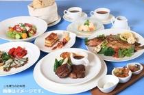 夕食「ギリシャ料理」の一例♪