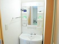 【禁煙・和室8畳/12畳】独立した洗面台は使いやすさ抜群。