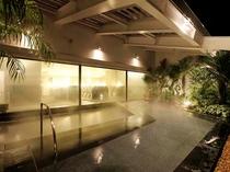 天然温泉付き大浴場『ほほえみの湯』(露天風呂)