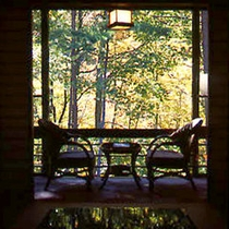 客室からの景色 秋