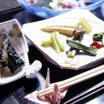 山菜料理(写真一例)