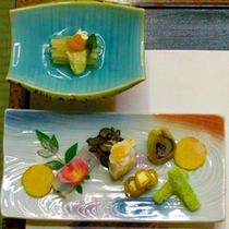 前菜と先附 料理一例