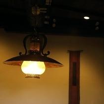 【離れ客室の照明】