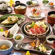 春のお食事の一例