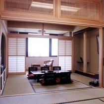 和室2間の一例