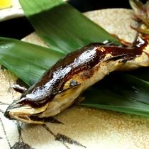 鮎の特製味噌焼き