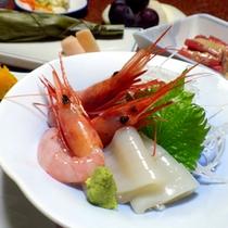 *【夕食一例】ぴちぴち♪新鮮な海の幸