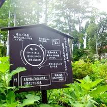*【赤倉温泉足湯公園】熱め、温め、冷たいと、お好きな温度の足湯を選べます☆交互浴で効果UP!