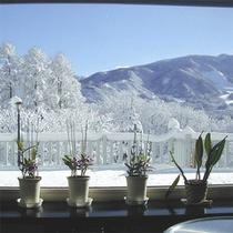 *ラウンジから眺め(冬)