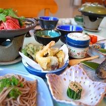*懐石料理(一例)<春〜秋>