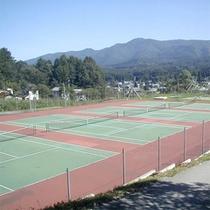 *テニスコート6面