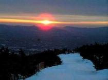 安達太良山の「初日の出ゴンドラ」