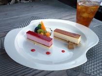 カフェプランのケーキの一例