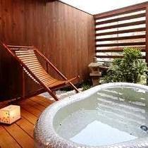 露天風呂付客室②