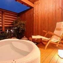 露天風呂付客室①