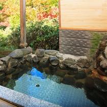 *客室露天風呂一例/季節ごとのお庭を眺めながらプライベートな時間を満喫!