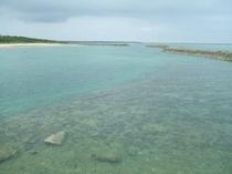 マエサトビーチ景観2