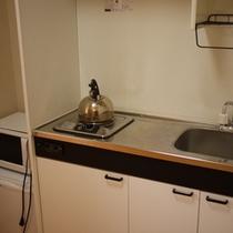 【シングル】バス・トイレはセパレート!キッチン、ウォシュレットも完備♪