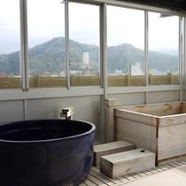 春〜秋にかけて男性のみ【屋上露天風呂】をご利用頂けます。