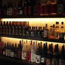 お酒の種類も豊富!福井の幸をさらに美味しくしてくれます。