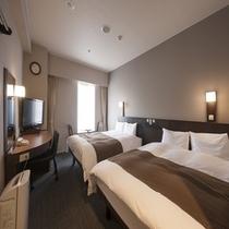 ◆ツインルーム 19㎡ ベッドサイズ140cm×200cm