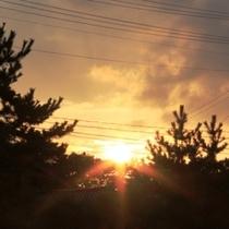 夕暮れの美しい景色をご覧下さい