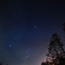 冬の夜空のグラデーション★