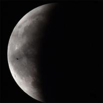 八ヶ岳から見た月食