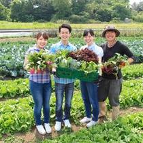 グレイス農園で野菜収穫体験