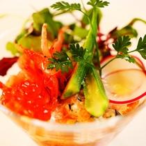 ■夕食IMAGE[地魚のタルタル カクテル仕立て1]
