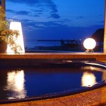 客室付き展望風呂